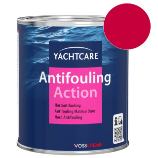 Yachtcare Action Hartantifouling rot 2,5 Liter